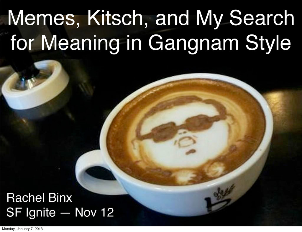Memes, Kitsch, and My Search for Meaning in Gan...