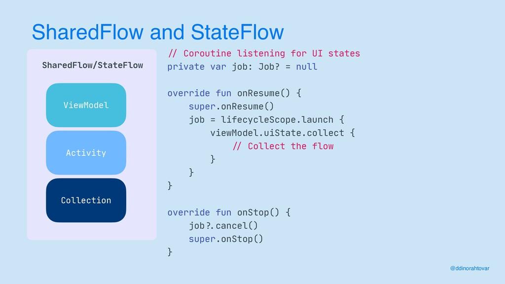 SharedFlow and StateFlow  SharedFlow/StateFlow...