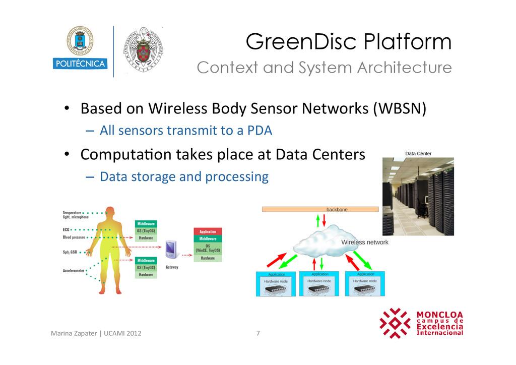 GreenDisc Platform • Based on Wireless...