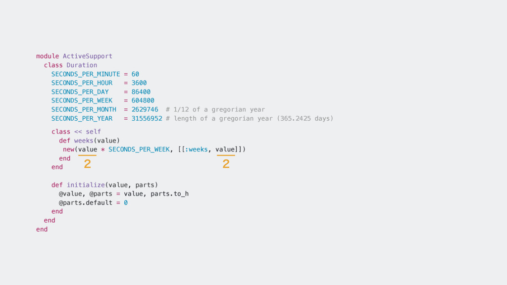 module ActiveSupport class Duration SECONDS_PER...
