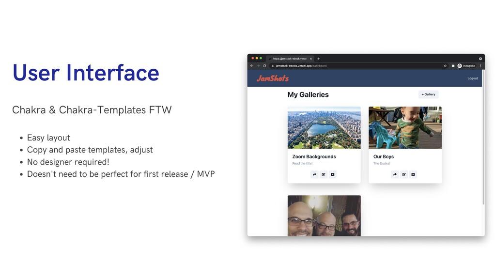 User Interface Chakra & Chakra-Templates FTW Ea...