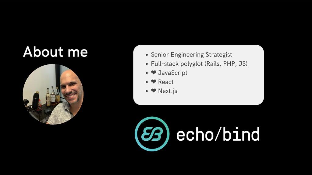 Senior Engineering Strategist Full-stack polygl...