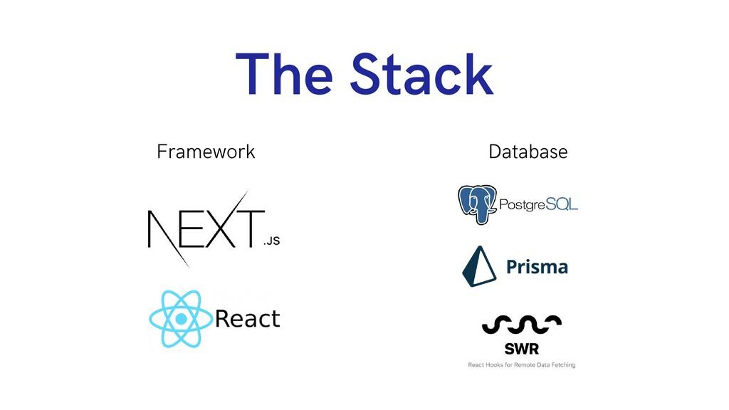 The Stack Framework Database