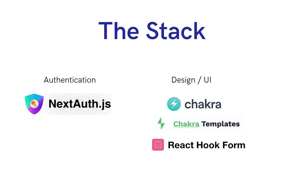 The Stack Authentication Design / UI