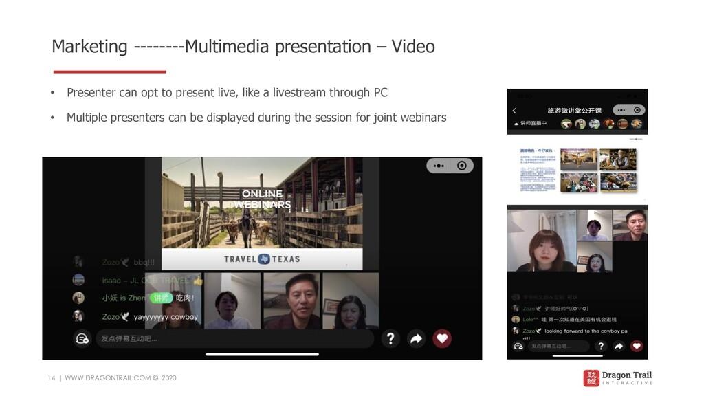 Marketing --------Multimedia presentation – Vid...