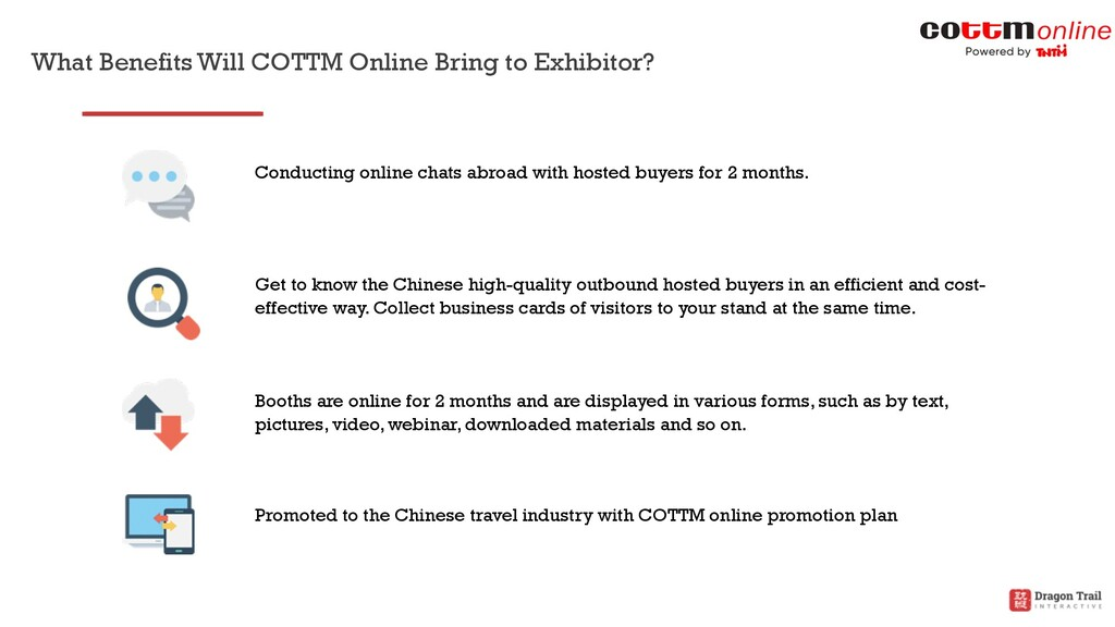 What Benefits Will COTTM Online Bring to Exhibi...