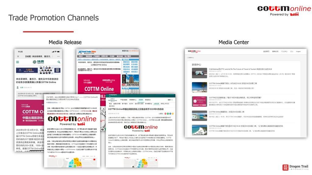 Trade Promotion Channels Media Release Media Ce...