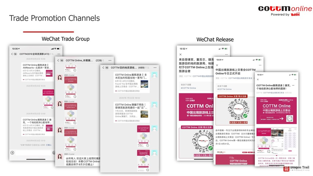 Trade Promotion Channels WeChat Trade Group WeC...