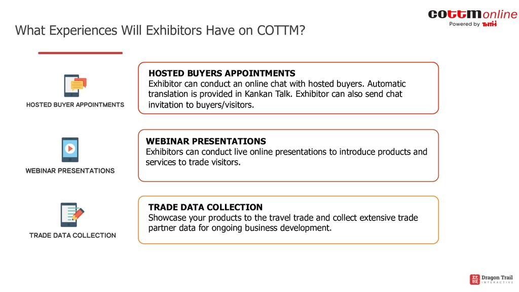 What Experiences Will Exhibitors Have on COTTM?...