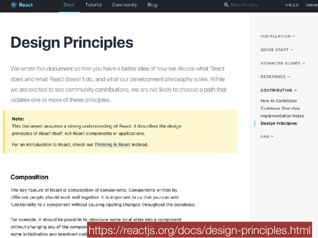 https://reactjs.org/docs/design-principles.html