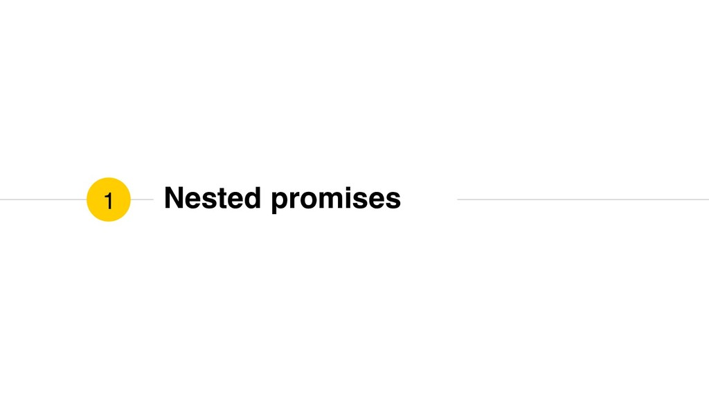 Nested promises 1