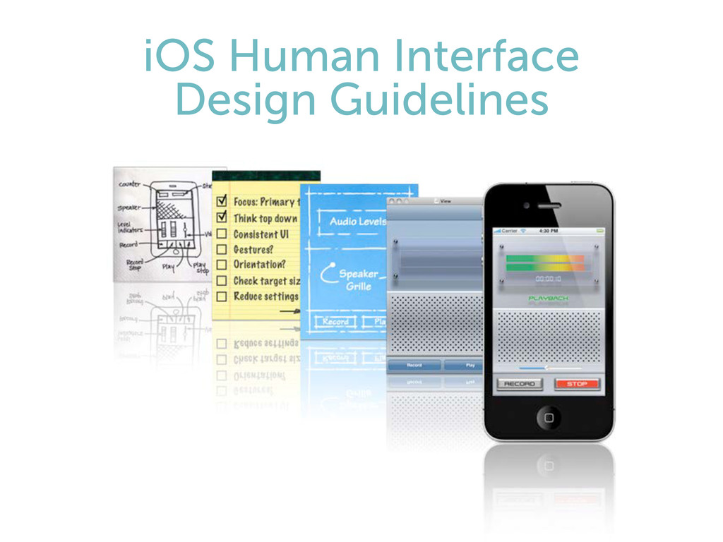 iOS Human Interface Design Guidelines