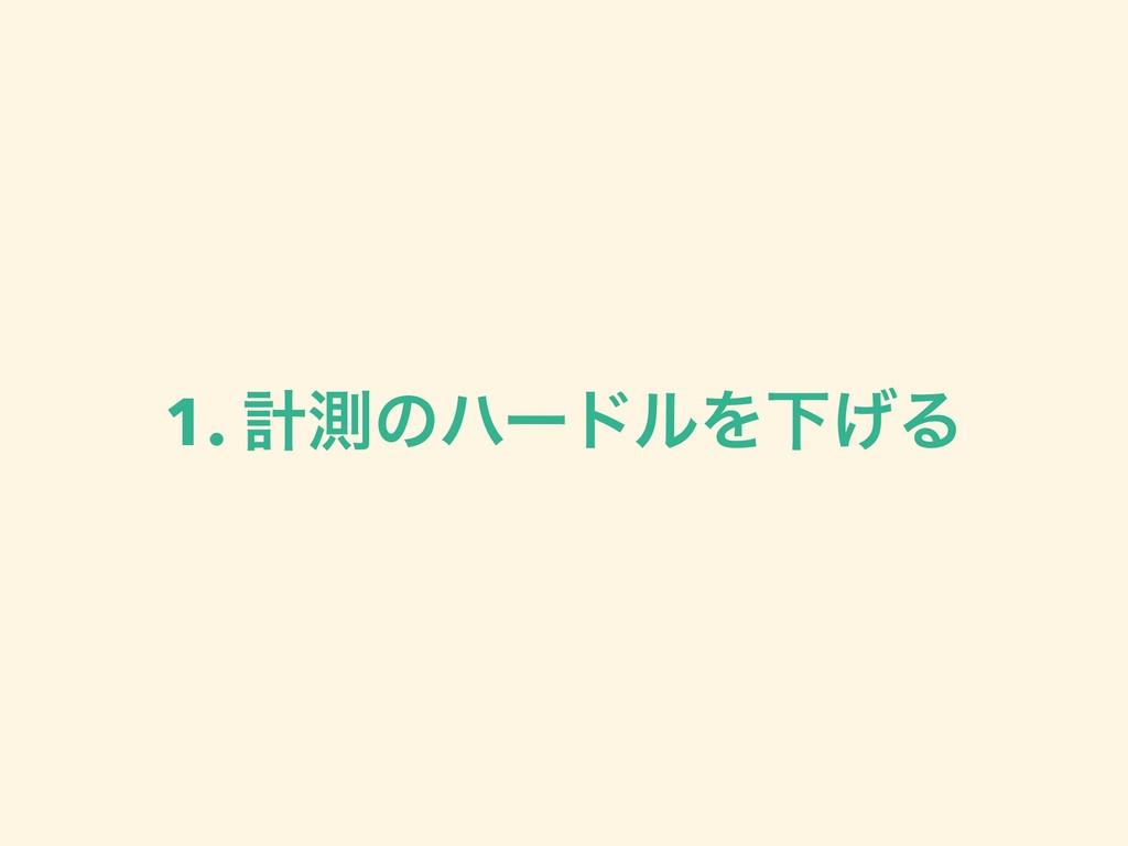 1. ܭଌͷϋʔυϧΛԼ͛Δ