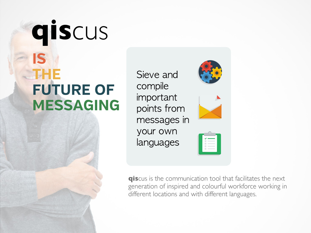 qiscus is the communication tool that facilitat...