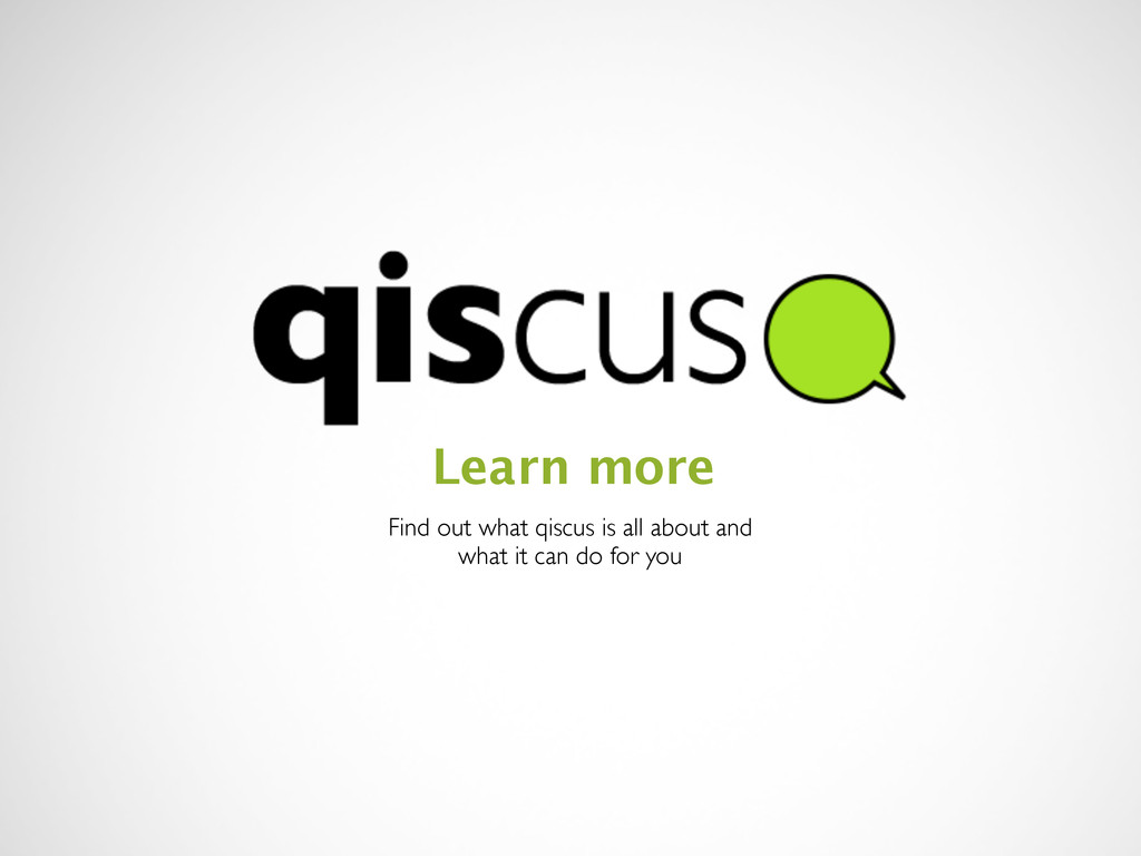 Find out what qiscus is all about and what it c...