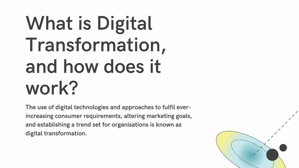 What is Digital Transformation, and how does it...