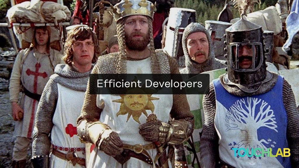 Efficient Developers