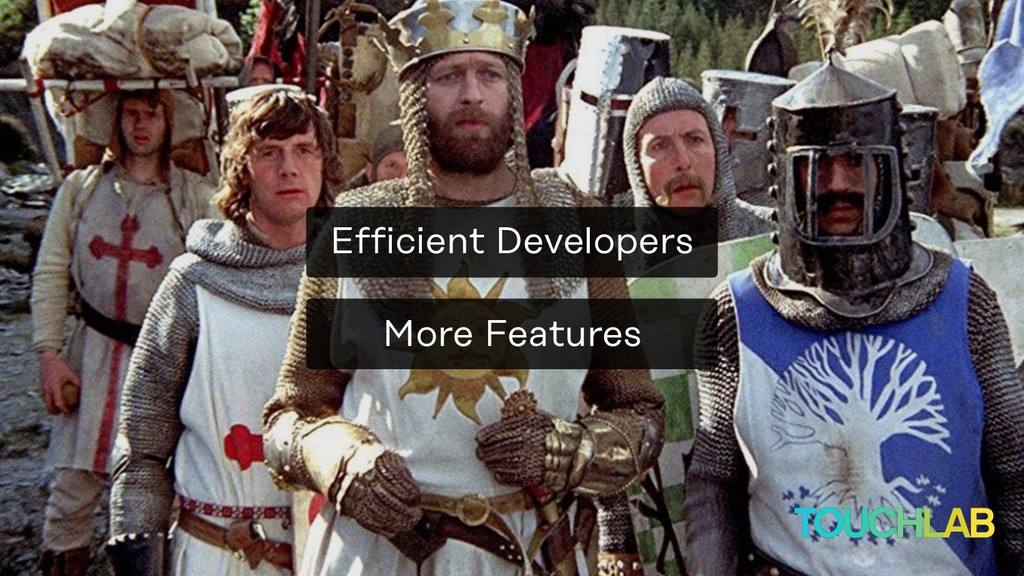 More Features Efficient Developers