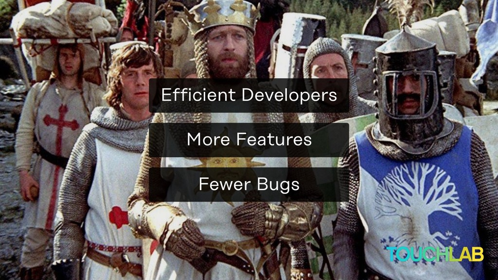 More Features Fewer Bugs Efficient Developers