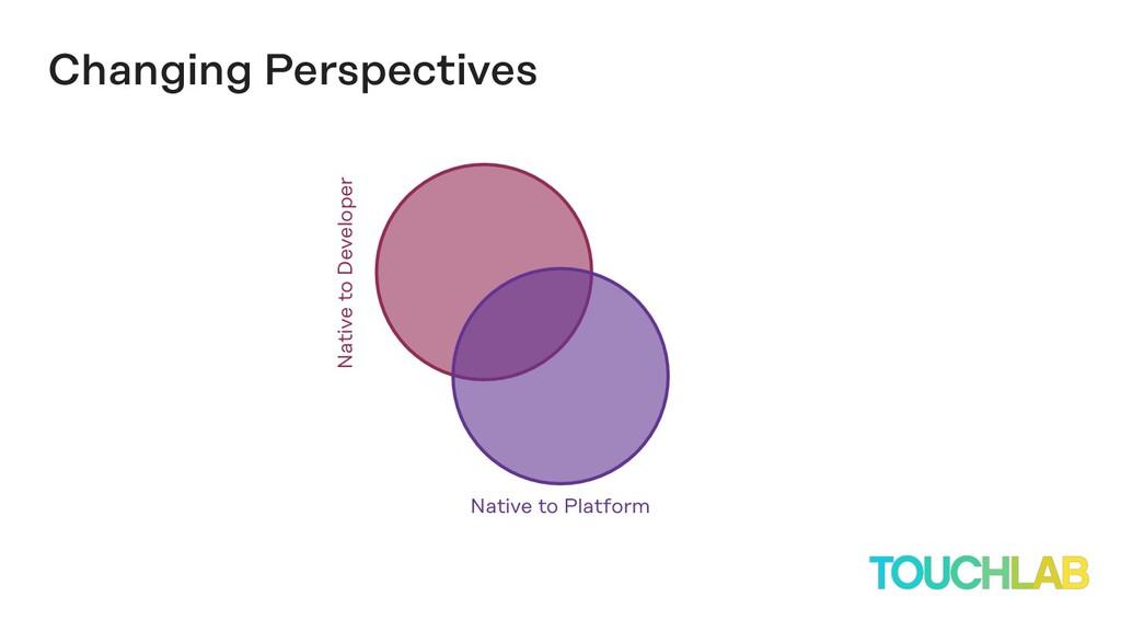 Native to Developer Changing Perspectives Nativ...