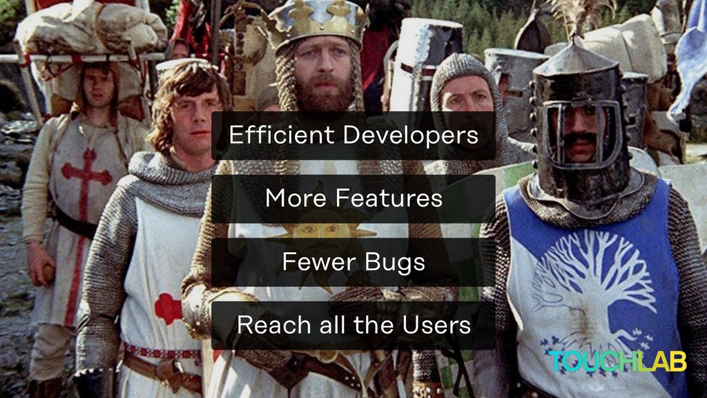 More Features Reach all the Users Fewer Bugs Ef...