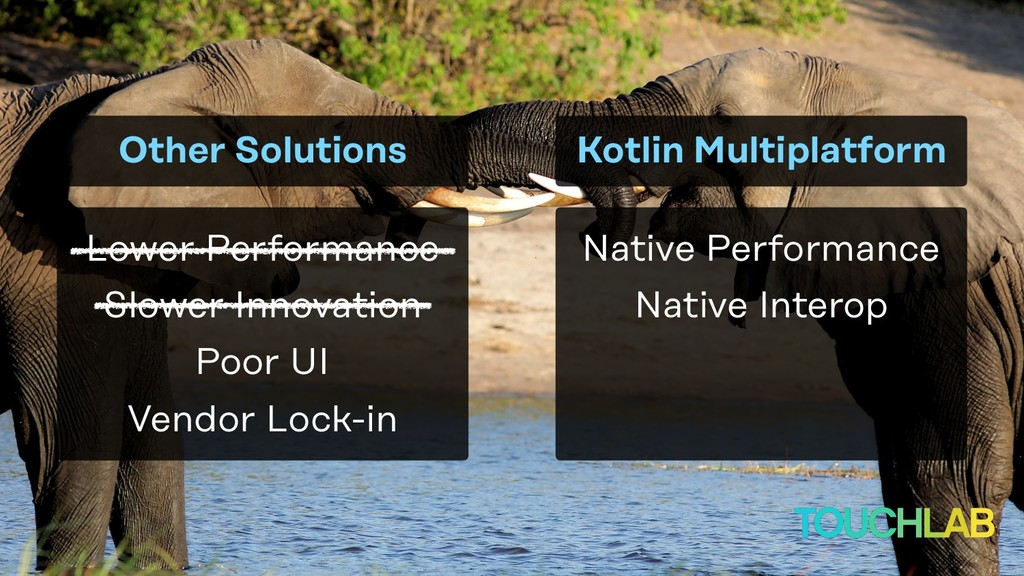 Native Performance Other Solutions Native Inter...
