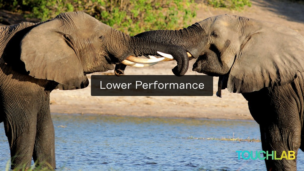 Lower Performance