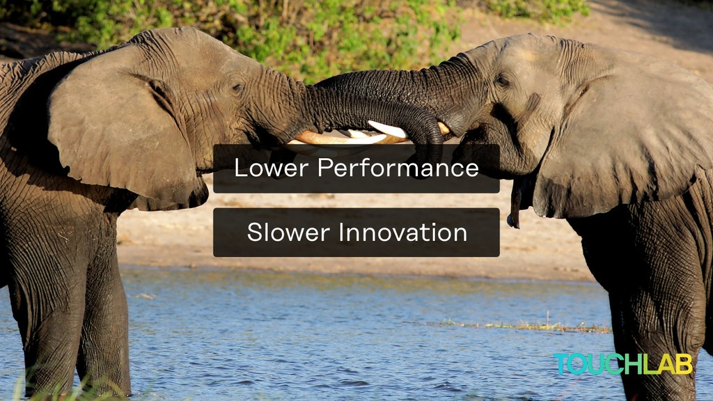 Slower Innovation Lower Performance