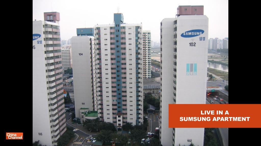 LIVE IN A SUMSUNG APARTMENT