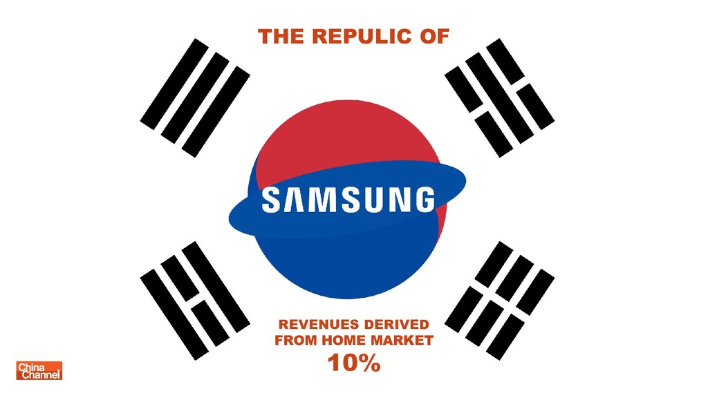 REVENUES DERIVED FROM HOME MARKET 10% THE REPUL...