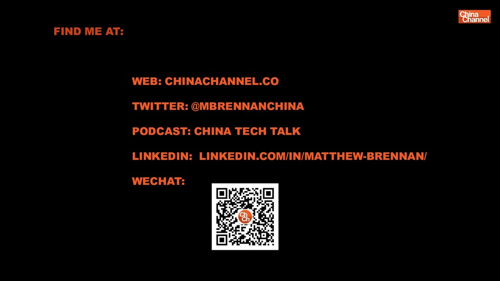 FIND ME AT: WEB: CHINACHANNEL.CO TWITTER: @MBRE...