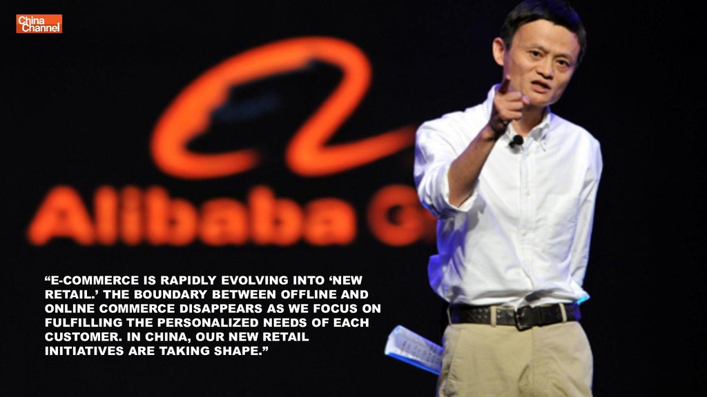 """E-COMMERCE IS RAPIDLY EVOLVING INTO 'NEW RETAI..."