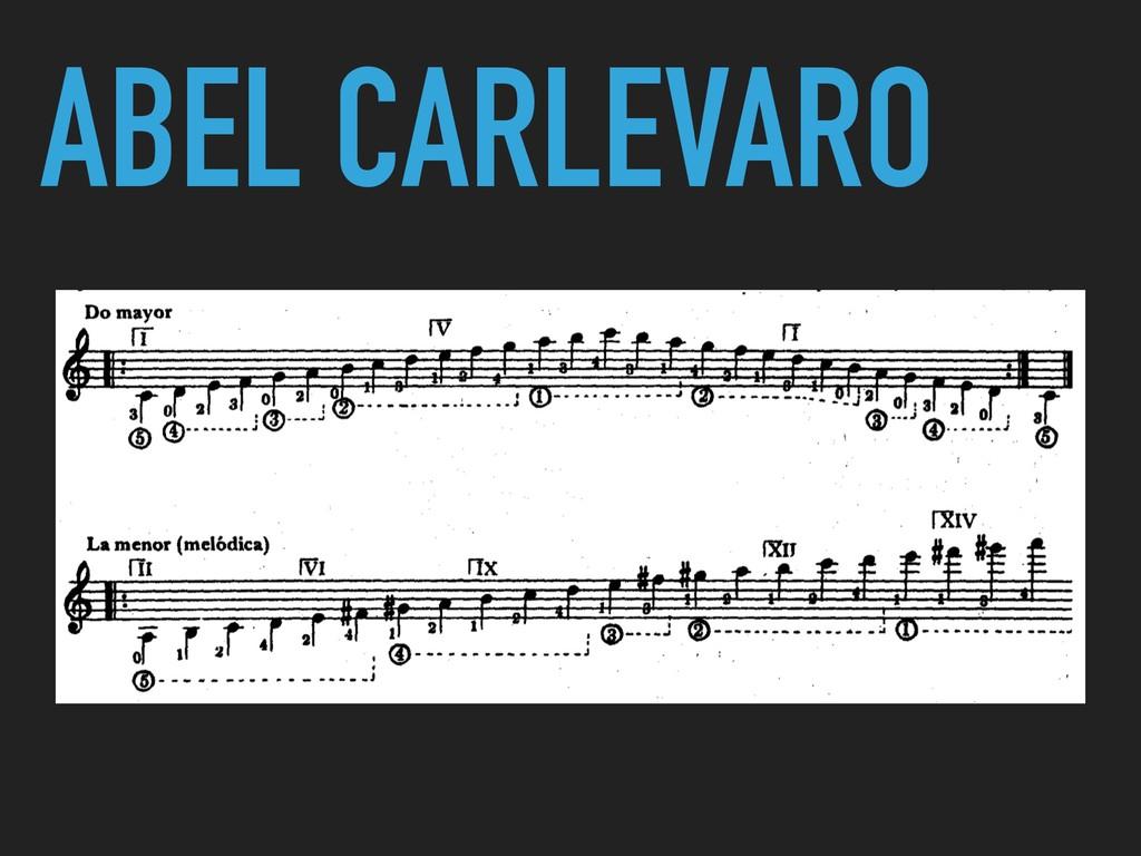 ABEL CARLEVARO