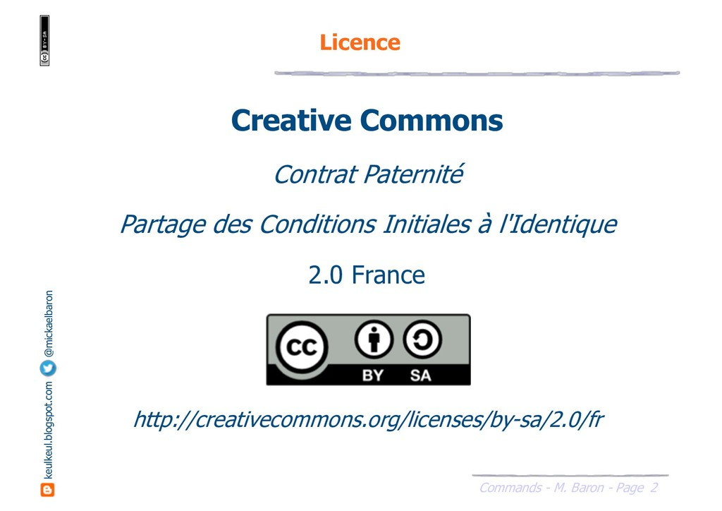 2 Commands - M. Baron - Page keulkeul.blogspot....