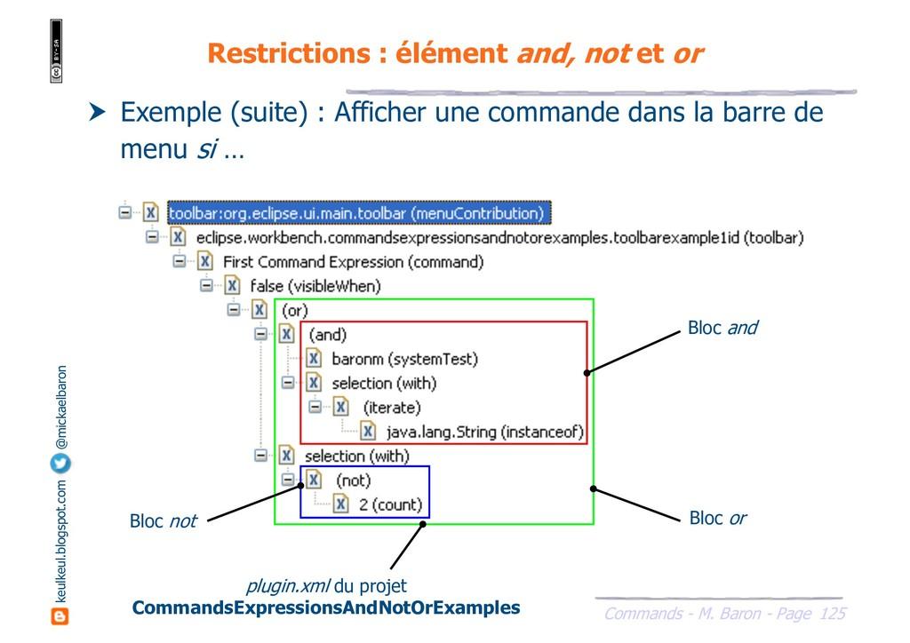 125 Commands - M. Baron - Page keulkeul.blogspo...