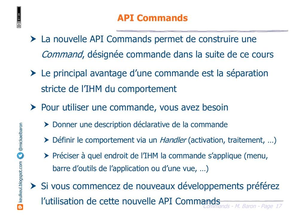 17 Commands - M. Baron - Page keulkeul.blogspot...