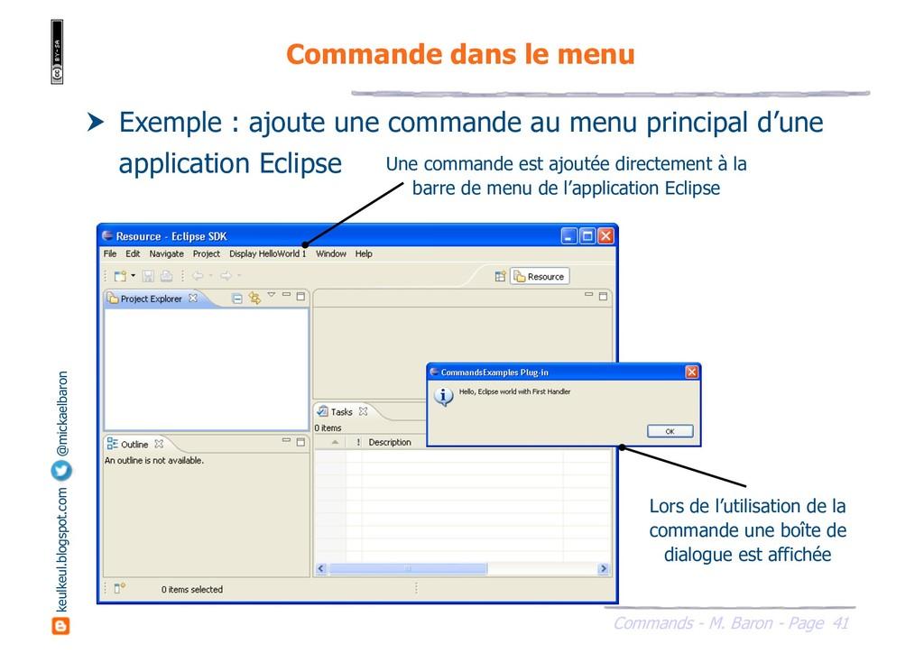 41 Commands - M. Baron - Page keulkeul.blogspot...