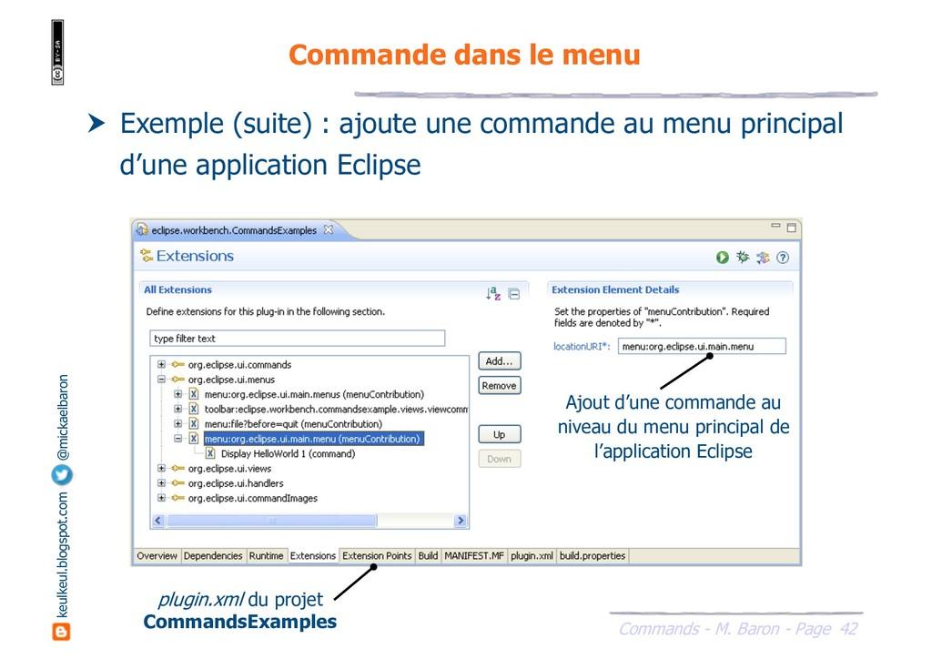 42 Commands - M. Baron - Page keulkeul.blogspot...