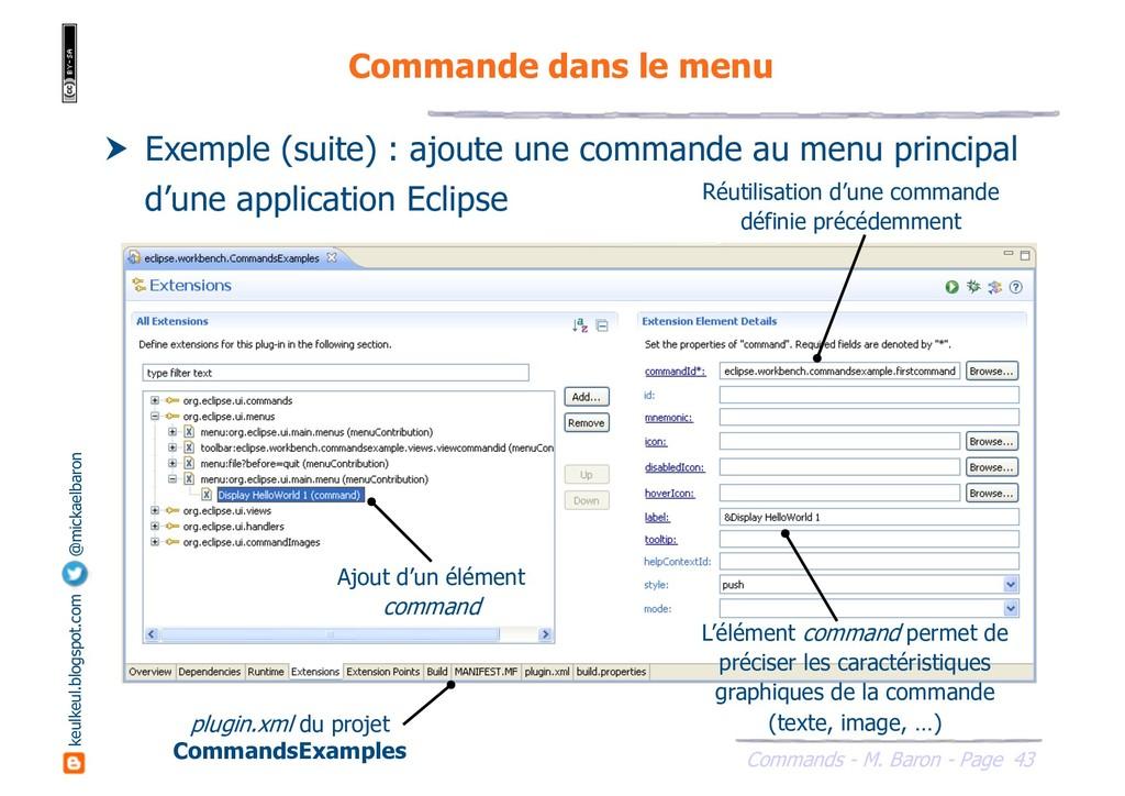 43 Commands - M. Baron - Page keulkeul.blogspot...