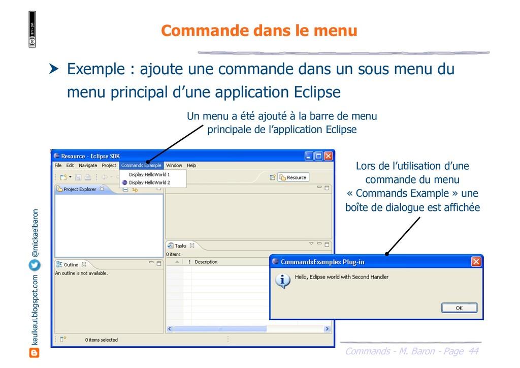 44 Commands - M. Baron - Page keulkeul.blogspot...