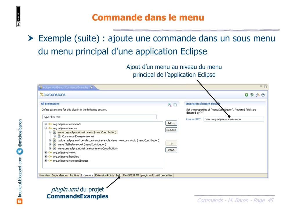 45 Commands - M. Baron - Page keulkeul.blogspot...