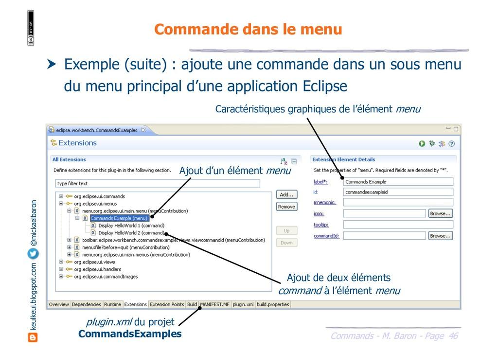 46 Commands - M. Baron - Page keulkeul.blogspot...