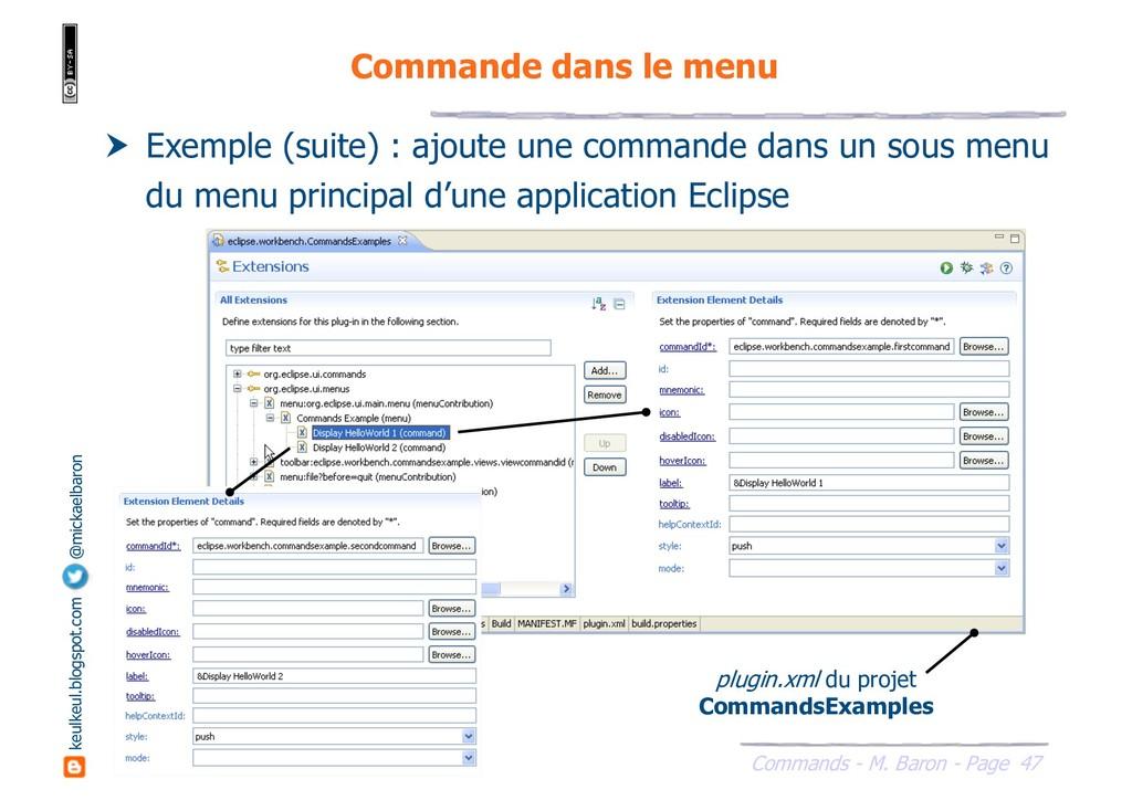 47 Commands - M. Baron - Page keulkeul.blogspot...