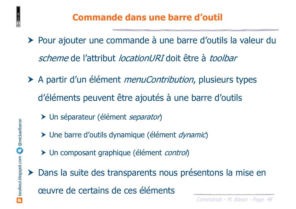48 Commands - M. Baron - Page keulkeul.blogspot...