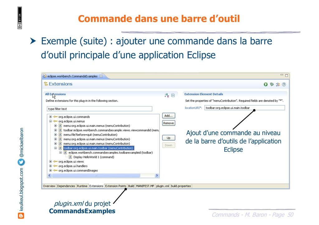 50 Commands - M. Baron - Page keulkeul.blogspot...