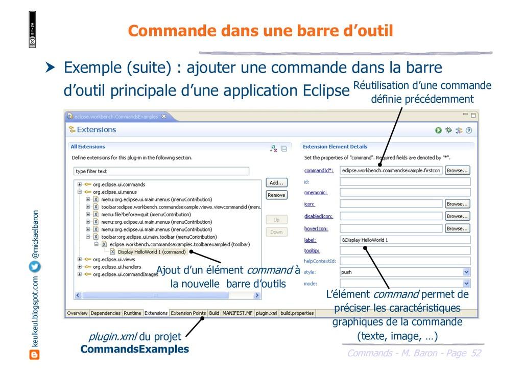 52 Commands - M. Baron - Page keulkeul.blogspot...