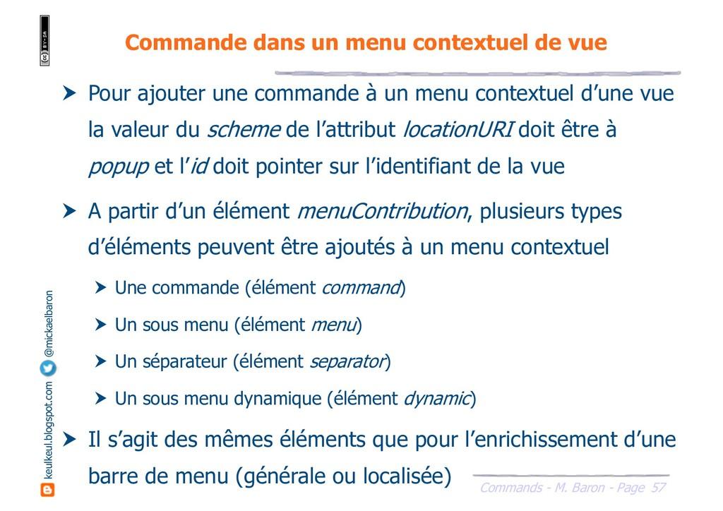57 Commands - M. Baron - Page keulkeul.blogspot...