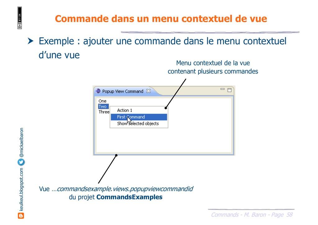 58 Commands - M. Baron - Page keulkeul.blogspot...
