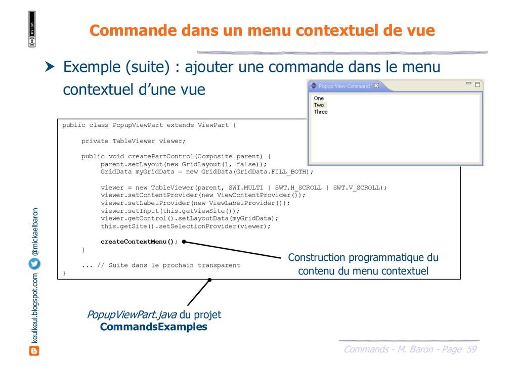 59 Commands - M. Baron - Page keulkeul.blogspot...