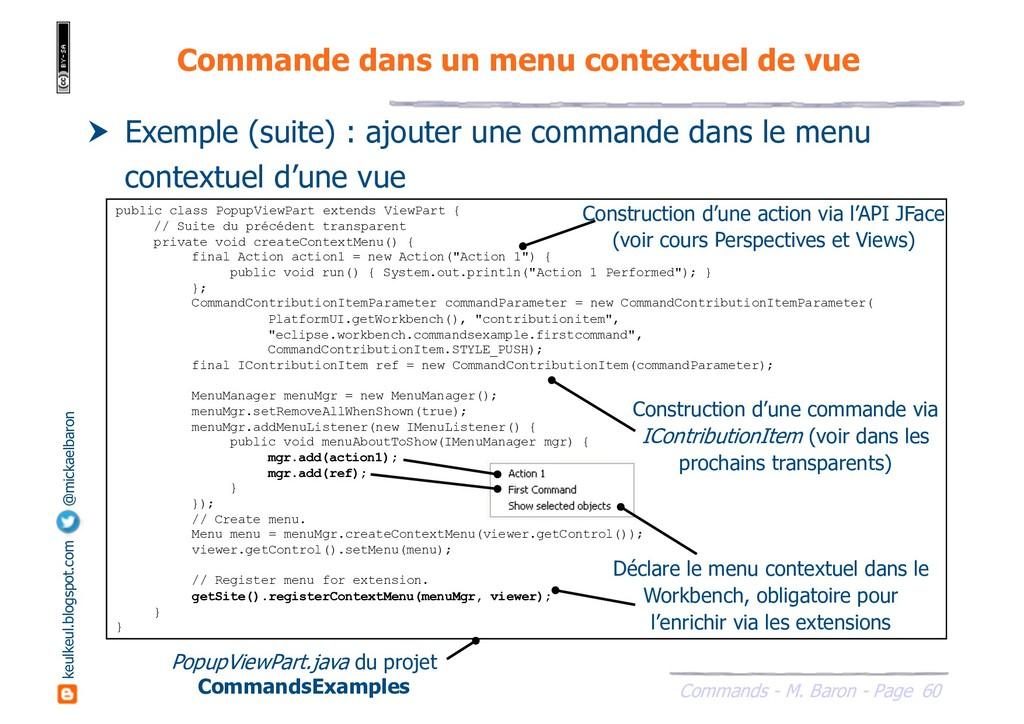 60 Commands - M. Baron - Page keulkeul.blogspot...